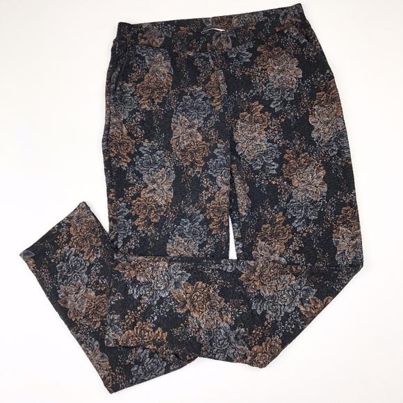 Zara Pants - ZARA   Printed Soft Stretchy Ankle Pant